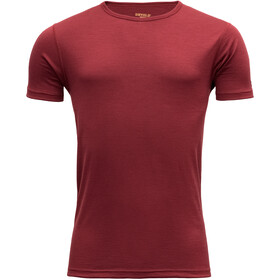 Devold Breeze T-shirt Herre syrah